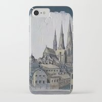 sweden iPhone & iPod Cases featuring Uppsala Sweden by Alejandro D