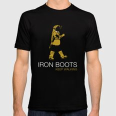 Iron Boots Mens Fitted Tee Black MEDIUM