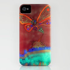 Bad Ash Mothra Funker Full (Wobblesauce) iPhone (4, 4s) Slim Case
