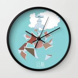 Leak Wall Clock