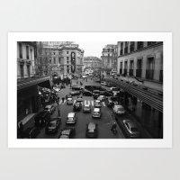 Streets of Paris II Art Print