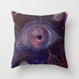 Fear Throw Pillow