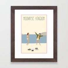 MOONRISE KINGDOM COVE Framed Art Print