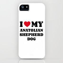 Anatolian Shepherd Dog iPhone Case