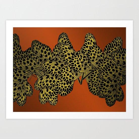 Inflexion Art Print