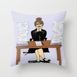 Swamped Throw Pillow