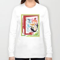 how to train your dragon Long Sleeve T-shirts featuring How to Train Your Dragon by Kathryn Hudson Illustrations