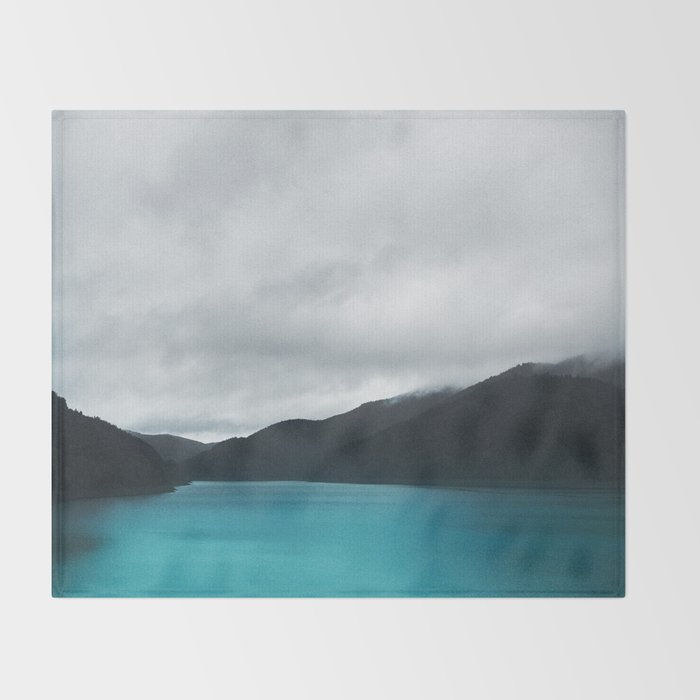 The Waters And The Wild Throw Blanket