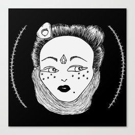 Crystal Witch Canvas Print