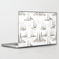 ballet Laptop & iPad Skins featuring Ballet by Moira Birch Swiatkowski