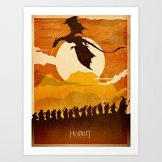 Dragon poster Art Print