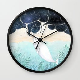Beluga Dreams Wall Clock