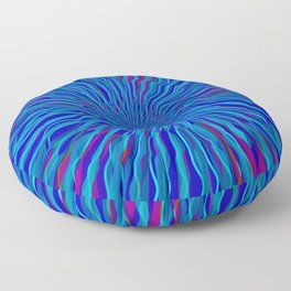 radial layers 4 Floor Pillow