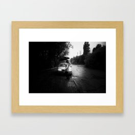 Don't Forget to Dance Framed Art Print