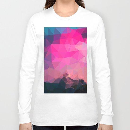 Poly-Sunrise  Long Sleeve T-shirt