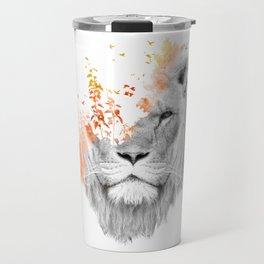 If I roar (The King Lion) Travel Mug