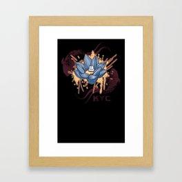 Lotus Can (KYC) Framed Art Print