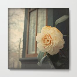 Flowers At The Abbey Metal Print