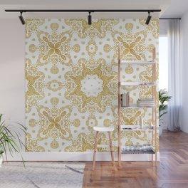 Golden pattern Wall Mural