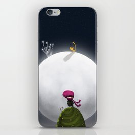 ...And the Moon iPhone Skin