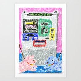 Dogs of New York City 2 Art Print