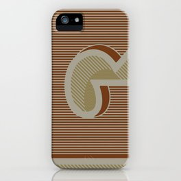 BOLD 'G' DROPCAP iPhone Case