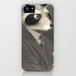 Mr. Racoon iPhone Case