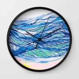 The sea 7 Wall Clock