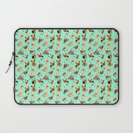 Yorkie Pattern Laptop Sleeve