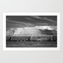 Boxcars Art Print