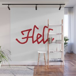 Hell Wall Mural