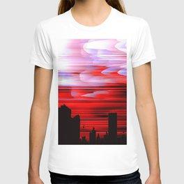 """Red Night Sky"" T-shirt"