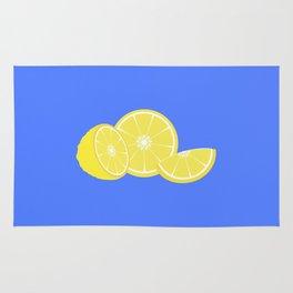 slice of lemon Rug
