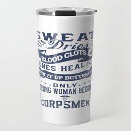 Corpsman Woman Travel Mug