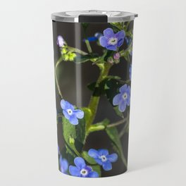 Forget-me-not Travel Mug
