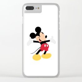 Mickey mouse Clear iPhone Case