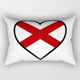 Love Alabama Rectangular Pillow