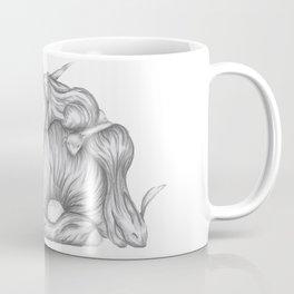 Pile of Bunnies Cuddling Coffee Mug