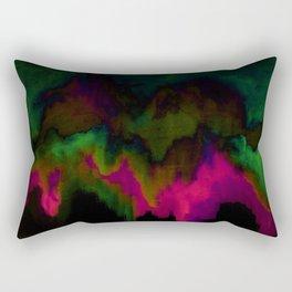 fuchsia drips Rectangular Pillow
