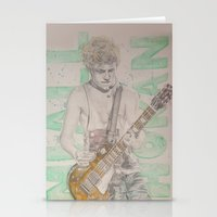 niall horan Stationery Cards featuring Niall Horan TMH Tour by vanessa