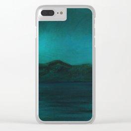 Night swim Lake Clear iPhone Case