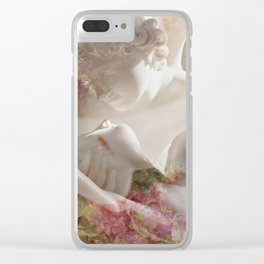 And of Eros and Psyche Clear iPhone Case