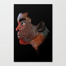 Mohamed Ali Color Canvas Print