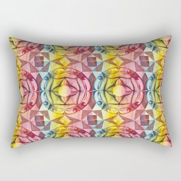 Ornament Tile Rectangular Pillow
