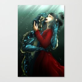 Shape of Water Canvas Print