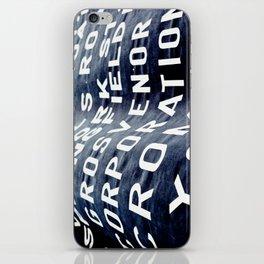Banner  iPhone Skin
