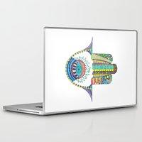 hamsa Laptop & iPad Skins featuring HAMSA by NoMoreWinters