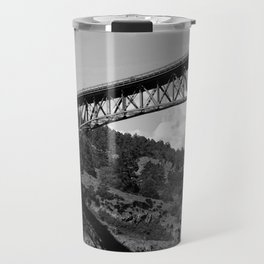 Deception Pass, the Bridge to Whidbey Island Travel Mug
