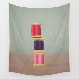 Thread Stack Wall Tapestry