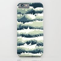 Explosions in the water iPhone 6s Slim Case